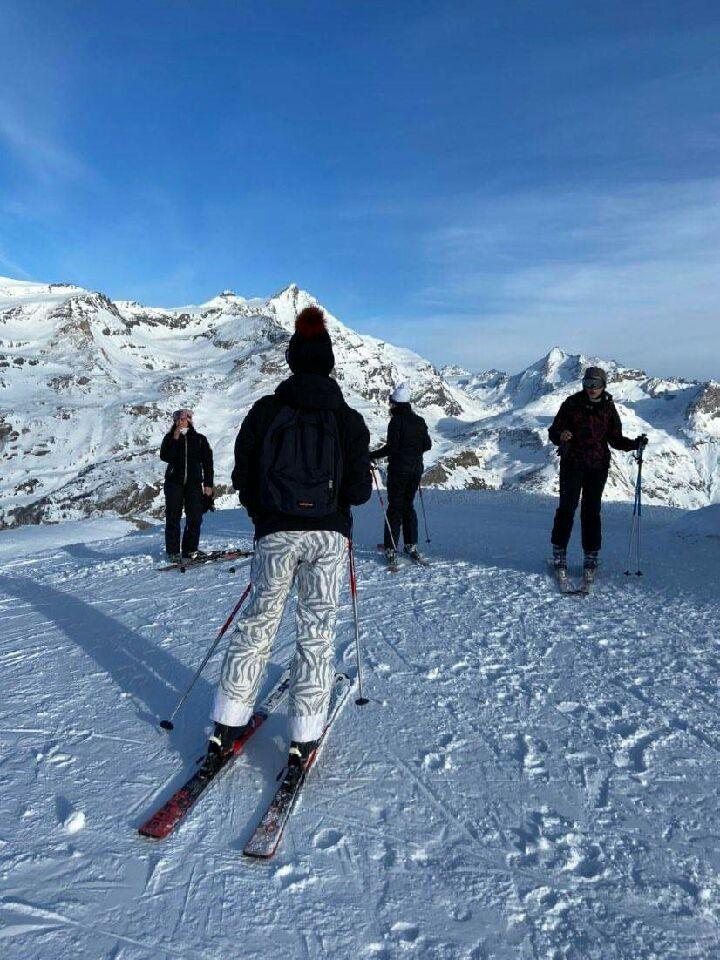 photo ski groupe