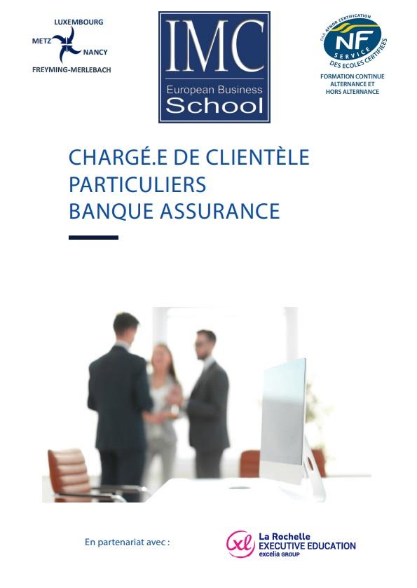 chargé de clientèle particuliers banque assurance