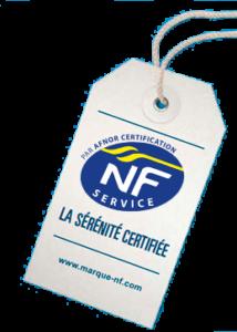 etiquette NF