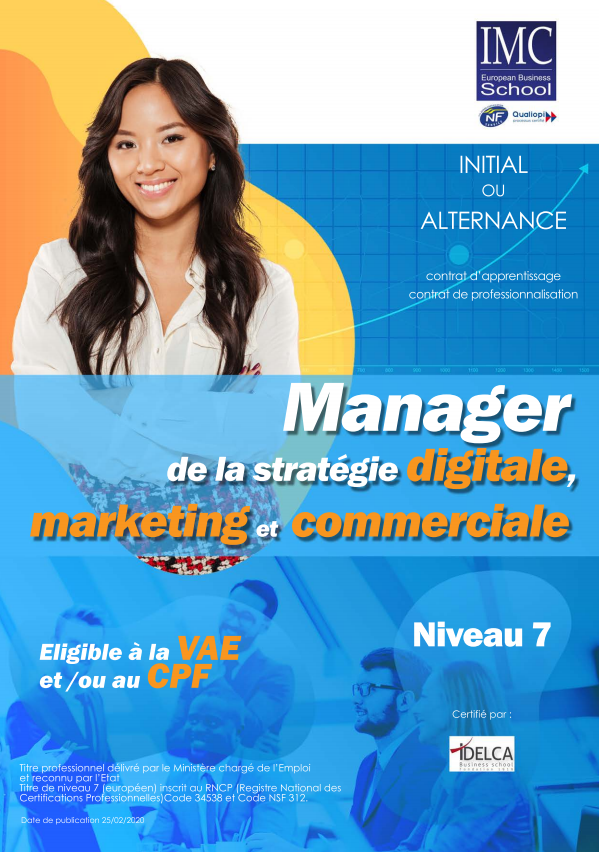 recto bac+5 marketing titre