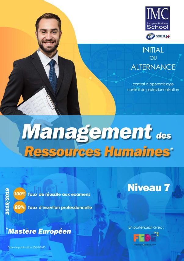 mastère ressources humaines