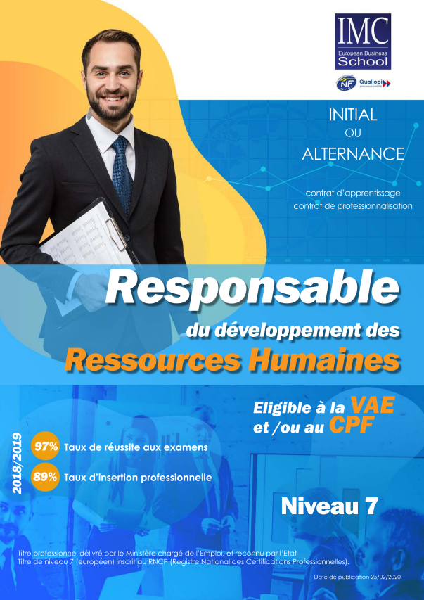 bac+5 ressources humaines