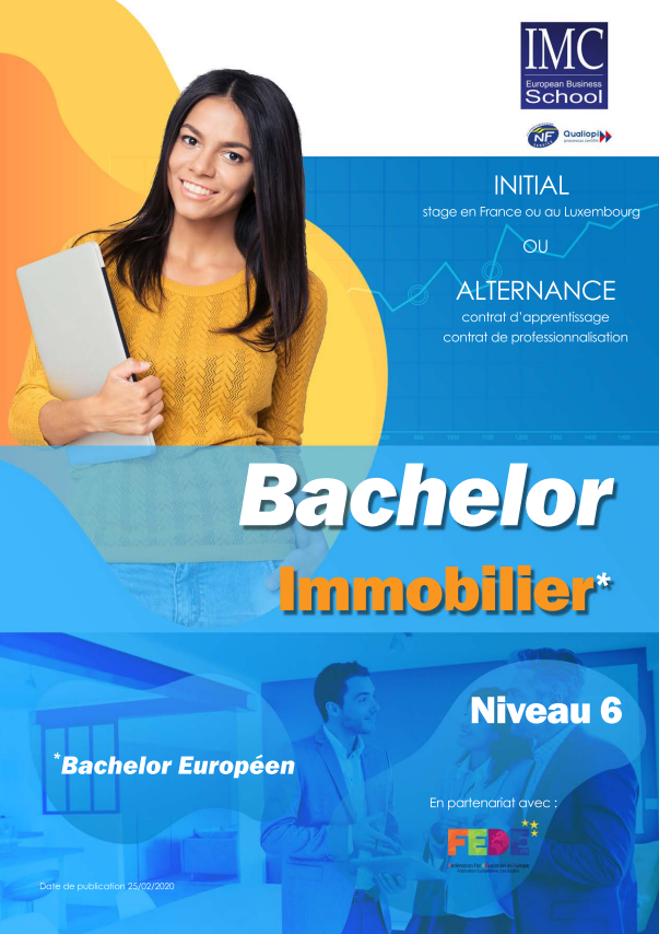Bachelor immobilier