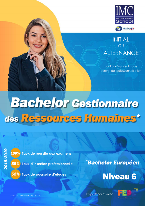Bachelor ressources humaines