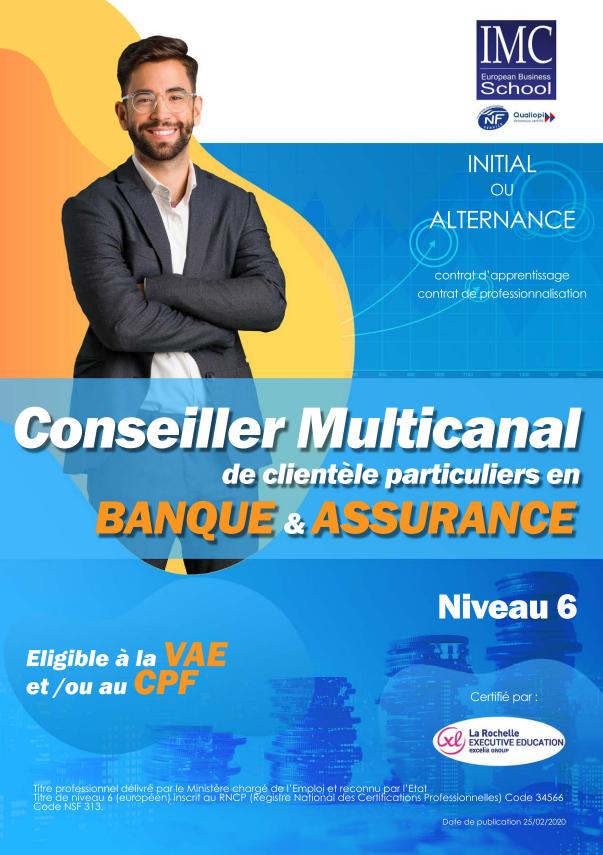 bac+3 banque
