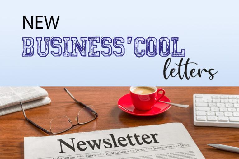 Nouveau : Business'cool Letters