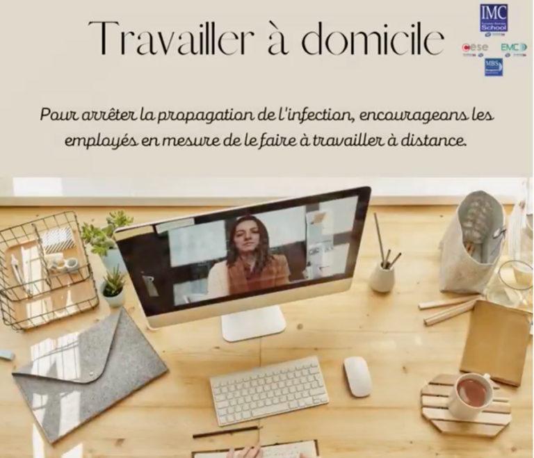 #Conseils : Comment bien travailler à domicile et mieux appréhender le télétravail ?