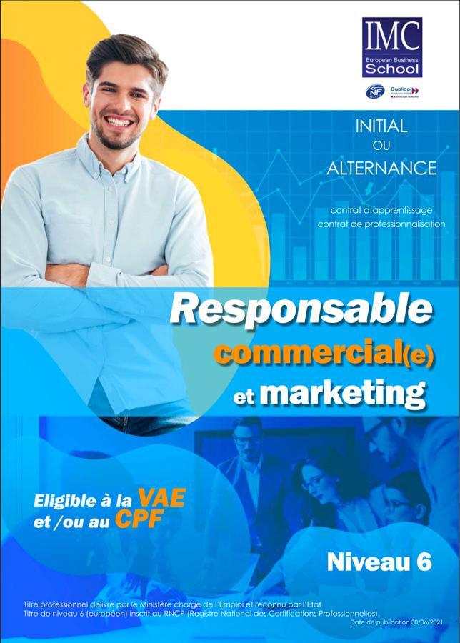 responsable marketing et commercial imc formation